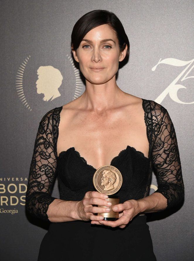 Carrie-Anne Moss - 75th Annual Peabody Awards Ceremony in New York City