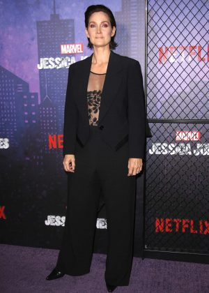 Carrie-Anne Moss - 'Jessica Jones' Season 2 Premiere in New York