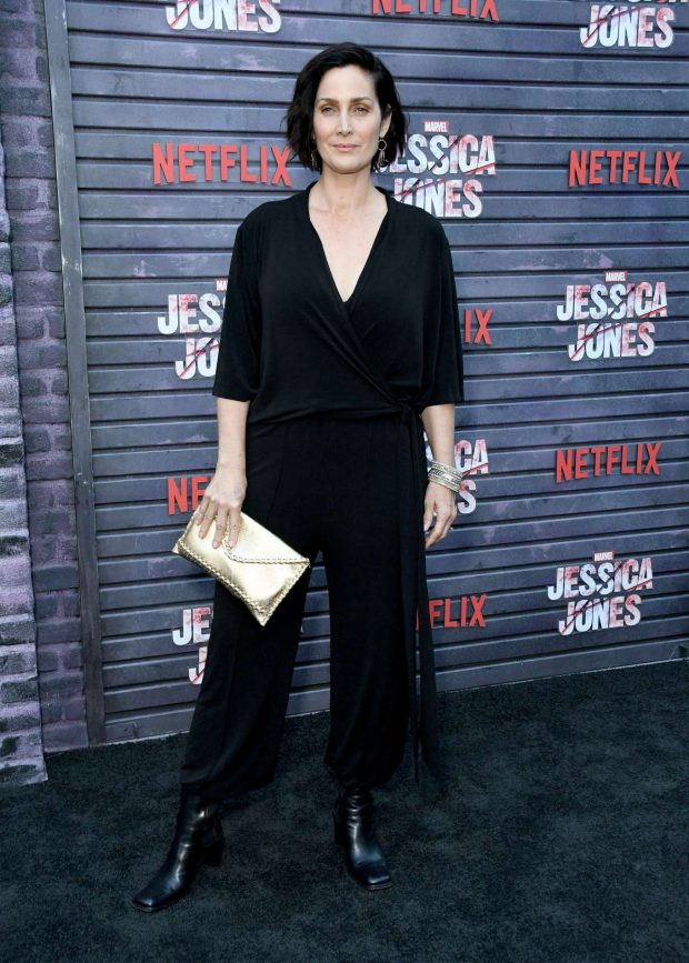 Carrie-Anne Moss - 'Jessica Jones' Season 3 Screening in Los Angeles