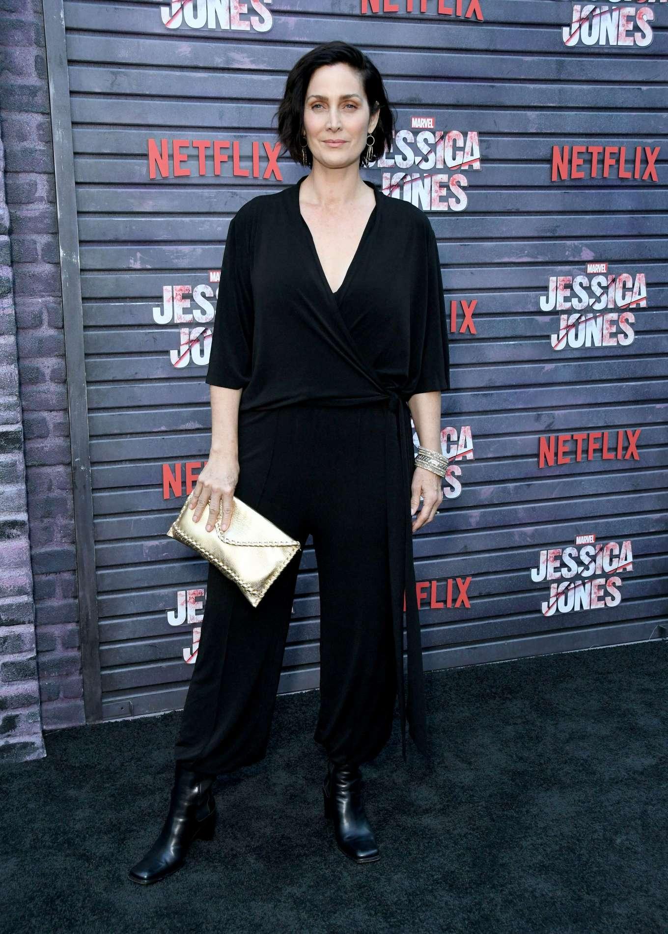 Carrie-Anne Moss - 'Jessica Jones' Season 3 Screening in Los Angeles