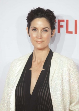 Carrie-Anne Moss - Netflix Presentation in Madrid