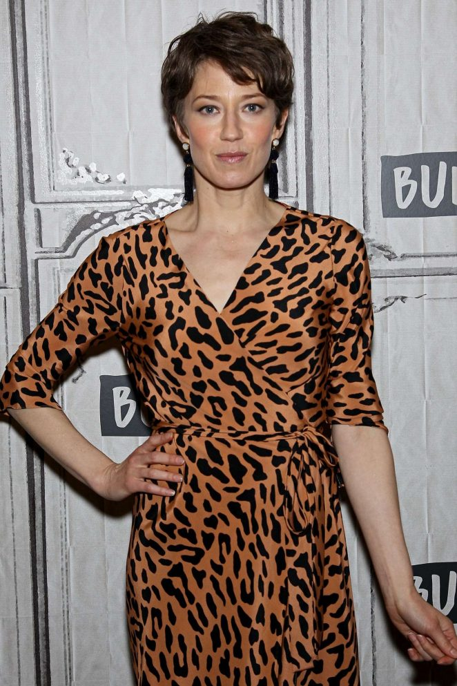 Carrie Coon - AOL Build Studios in New York