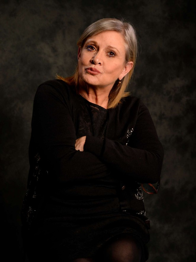 Carrie Fisher - 2015 USA Today Portraits
