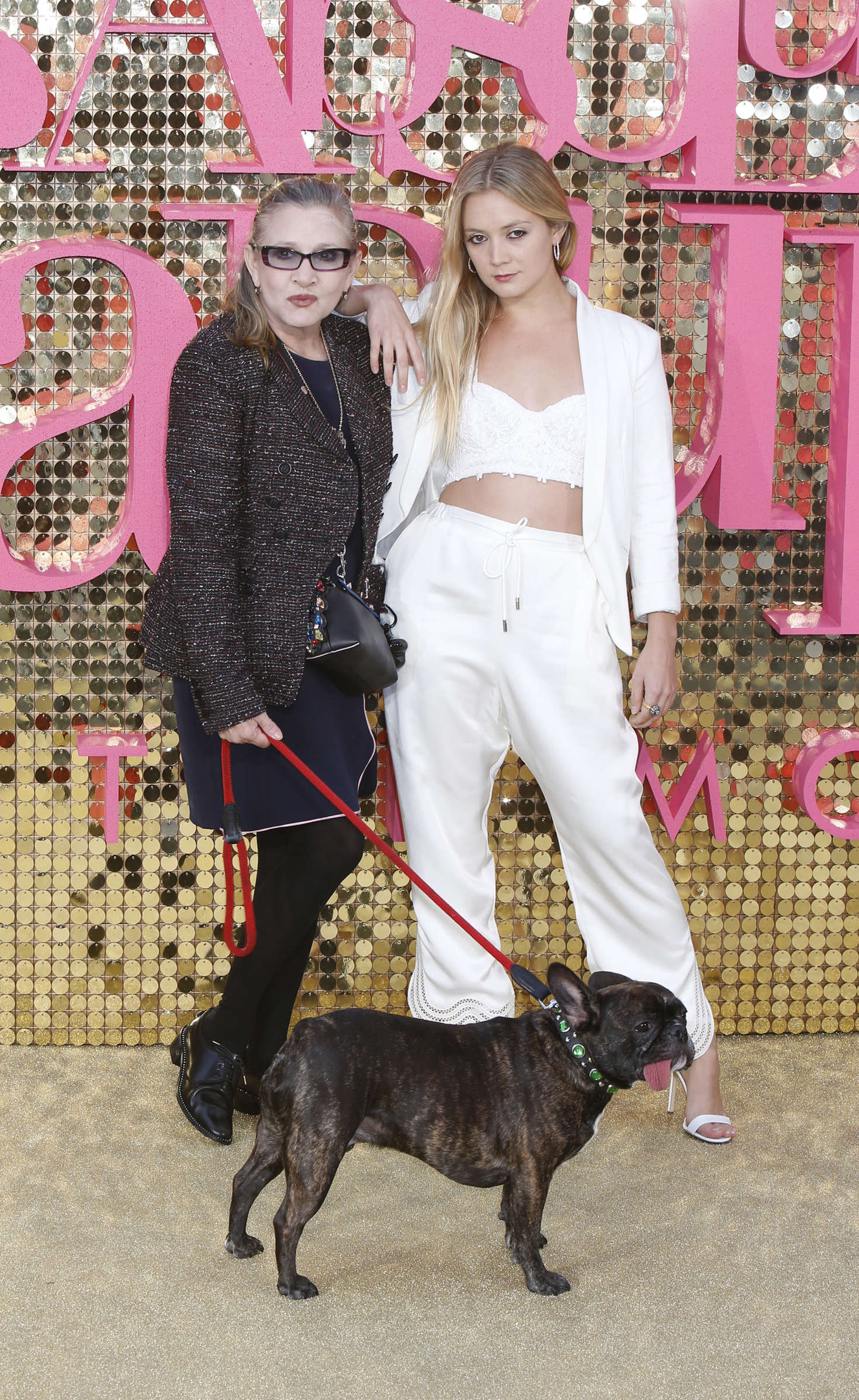 Carrie Fisher and Billie Lourd - 'Absolutely Fabulous: The Movie' Premiere in London