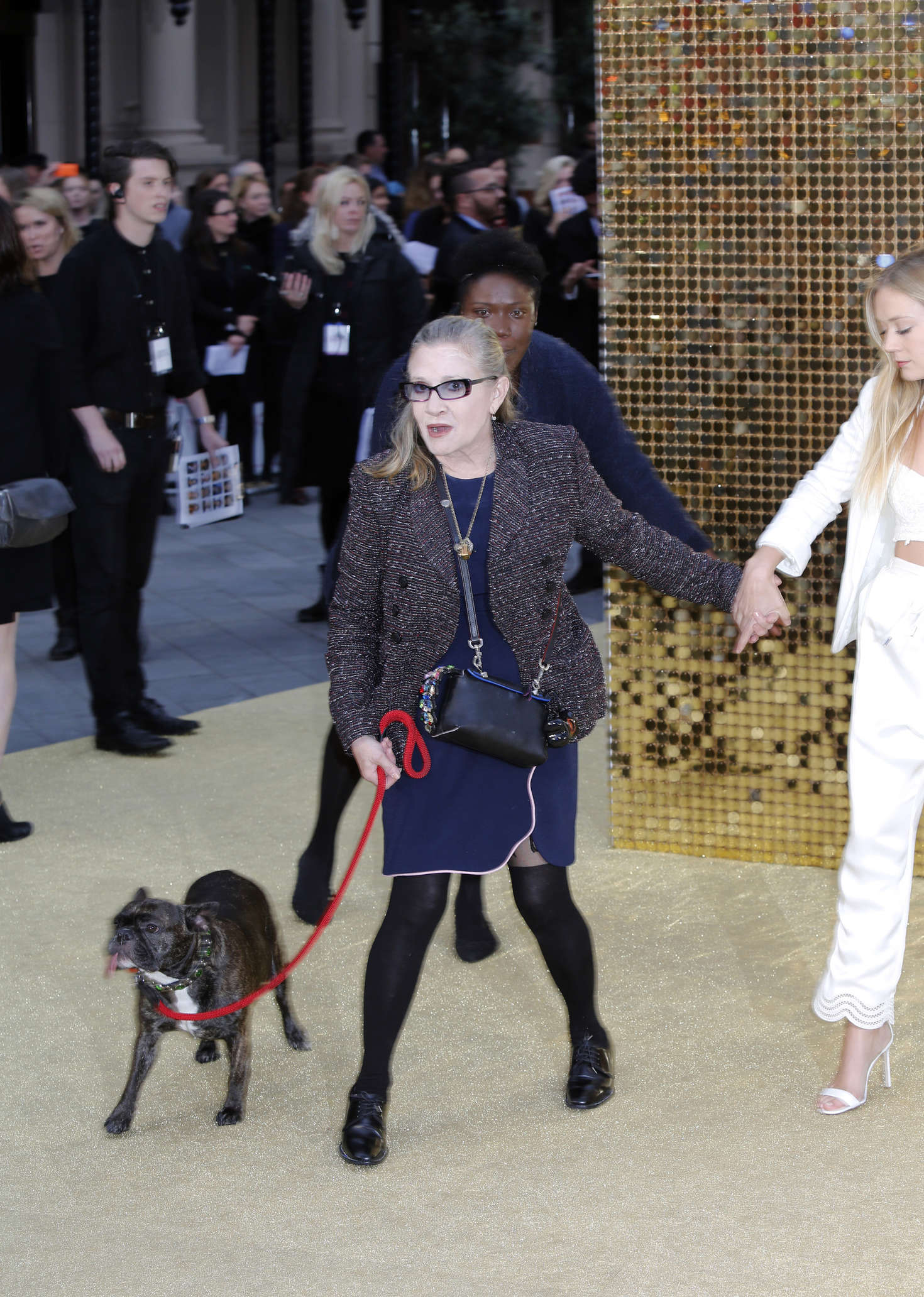 Carrie Fisher And Billie Lourd Absolutely Fabulous The Movie Uk