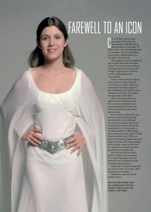 Carrie Fisher - Star Wars Insider (March 2017)