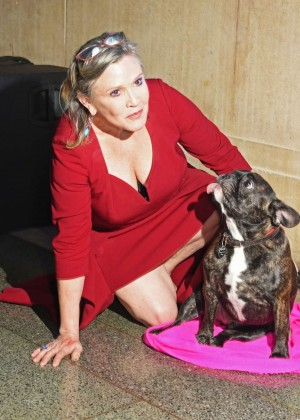Carrie Fisher - 'Star Wars: The Force Awakens' Premiere After Party in London