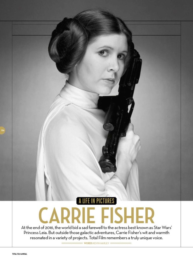 Carrie Fisher - Total Film Magazine (Annual 2018)