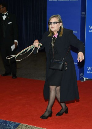 Carrie Fisher - White House Correspondents Dinner in Washington