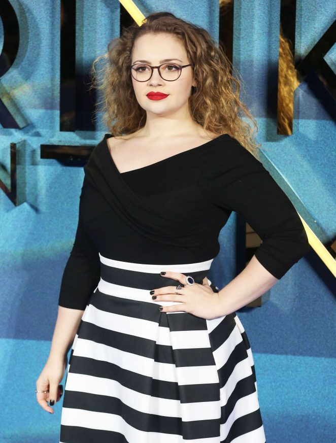 Carrie Fletcher - 'A Wrinkle In Time' Premiere in London