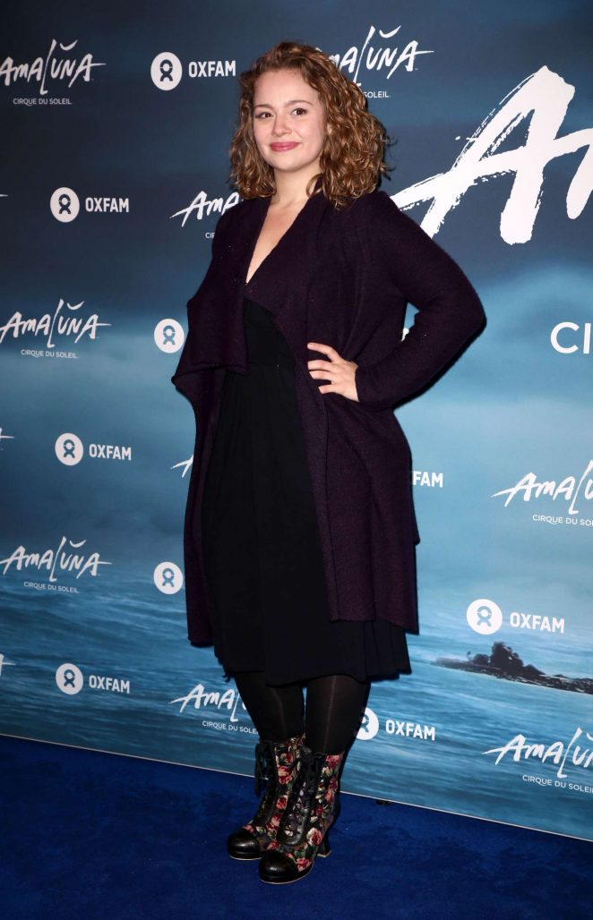 Carrie Fletcher - Cirque du Soleil 'Amaluna' Press Night in London