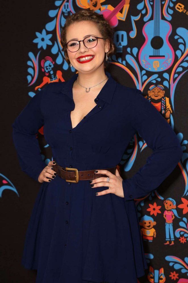 Carrie Fletcher - 'Coco' Screening in London