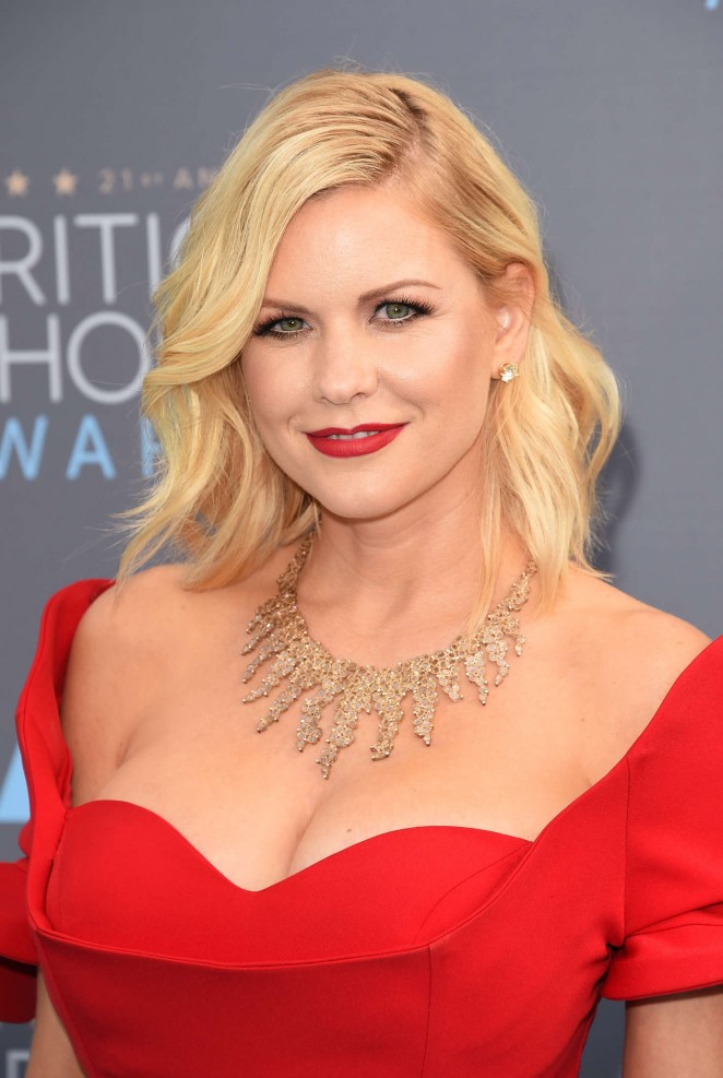 Carrie Keagan - 2016 Critics Choice Awards in Santa Monica