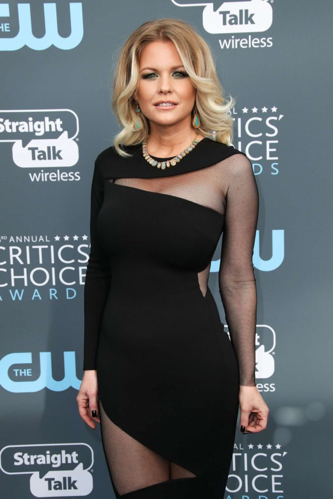 Carrie Keagan - Critics' Choice Awards 2018 in Santa Monica