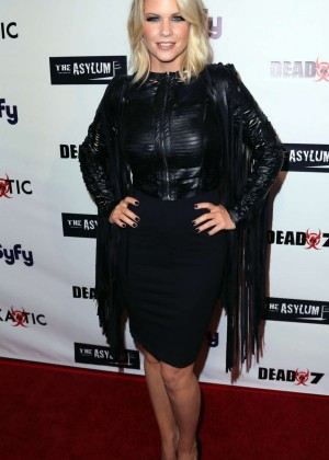 Carrie Keagan - 'Syfy's Dead 7' Premiere in Los Angeles