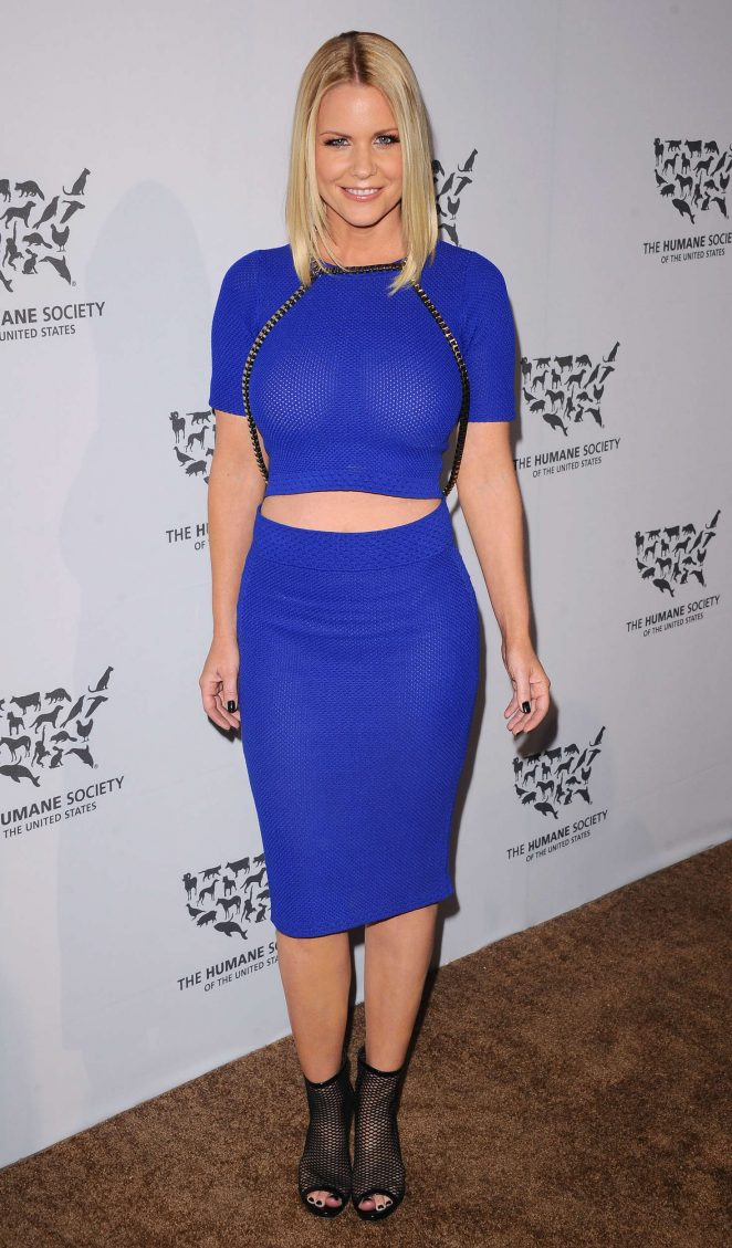 Carrie Keagan - The Humane Society Of The United States To The Rescue Gala in Hollywood