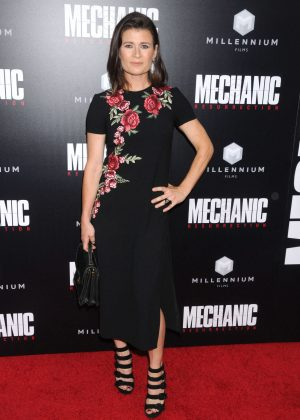 Carrie Lazar - 'Mechanic: Resurrection' Premiere in Los Angeles