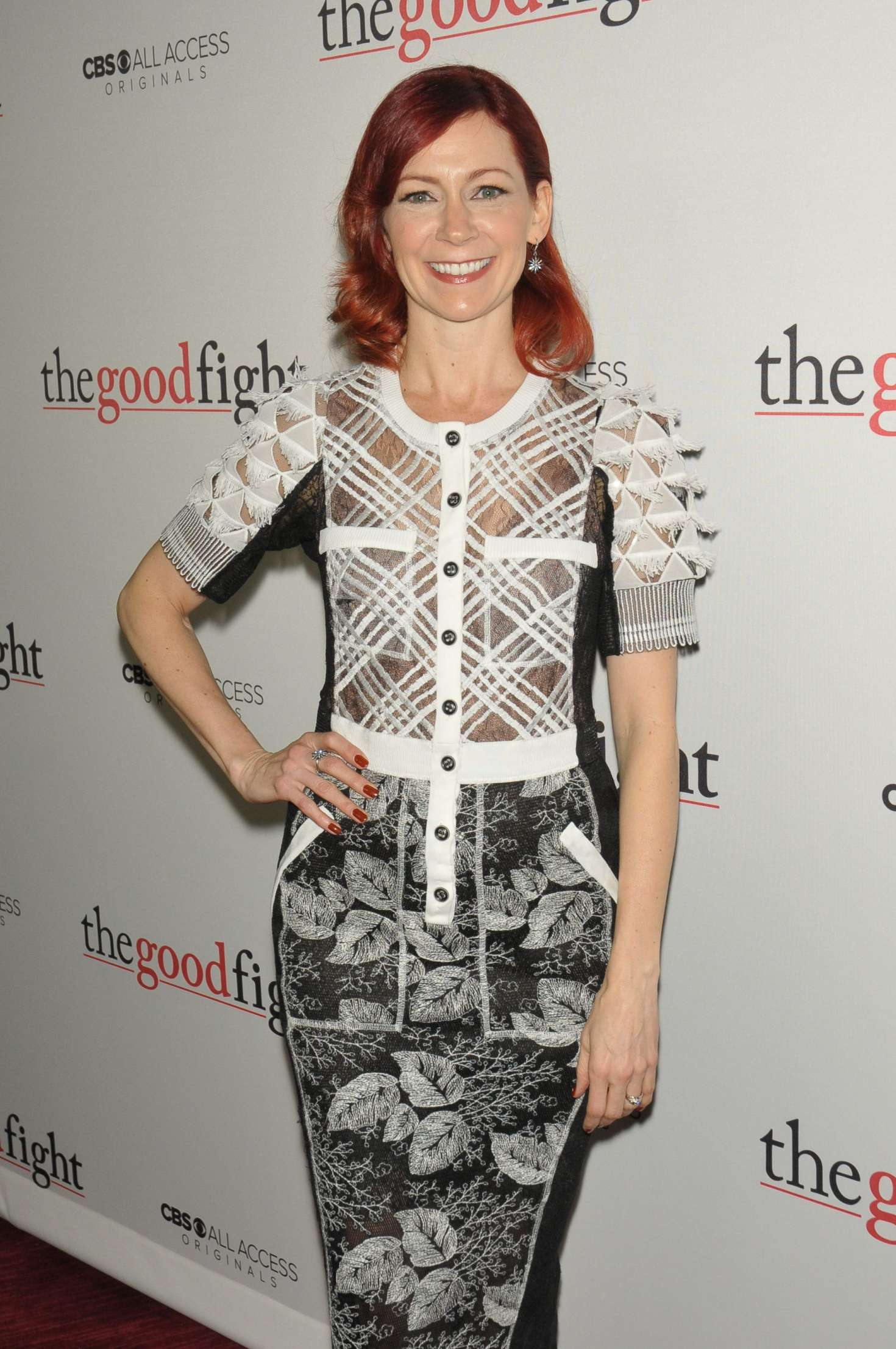 Carrie Preston - 'The Good Fight' Premiere in New York City