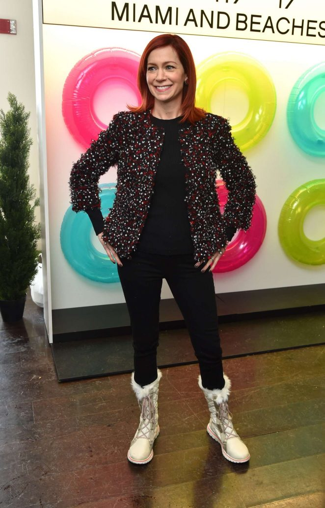 Carrie Preston - Variety Studio at 2017 Sundance Day 2 in Utah