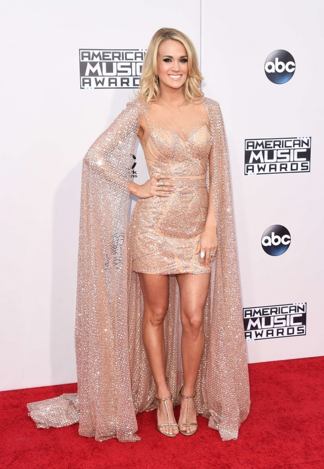 Carrie Underwood - 2015 American Music Awards in Los Angeles