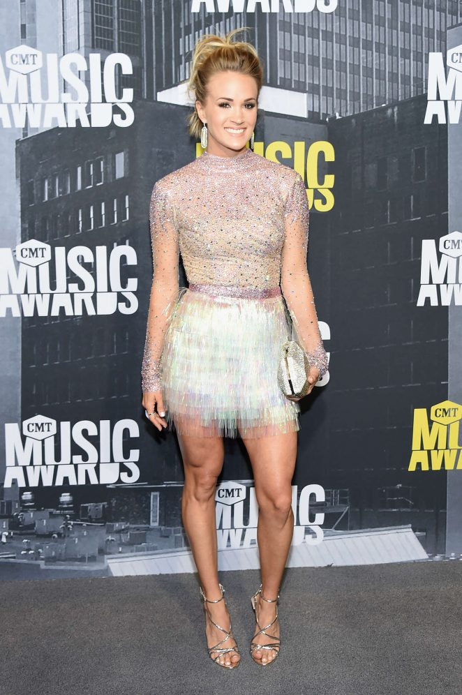 Carrie Underwood - 2017 CMT Music Awards in Nashville