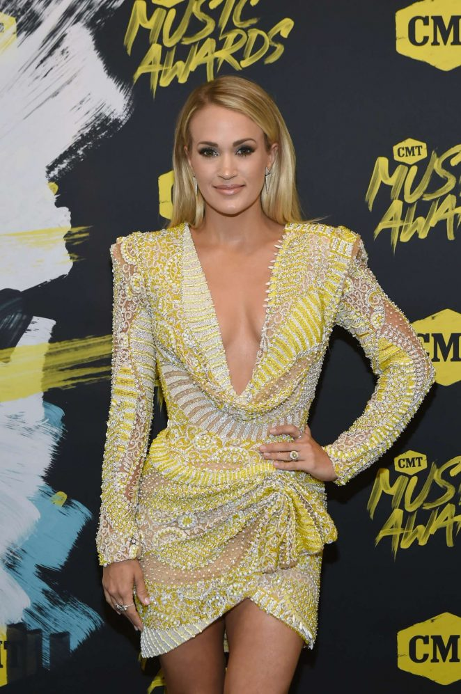 Carrie Underwood - 2018 CMT Music Awards in Nashville