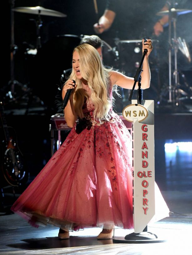 Carrie Underwood - 2020 Academy Of Country Music Awards in Nashville