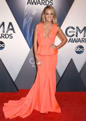 Carrie Underwood - 2015 CMA Awards in Nashville