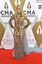 Carrie Underwood - 2019 CMA Awards in Nashville