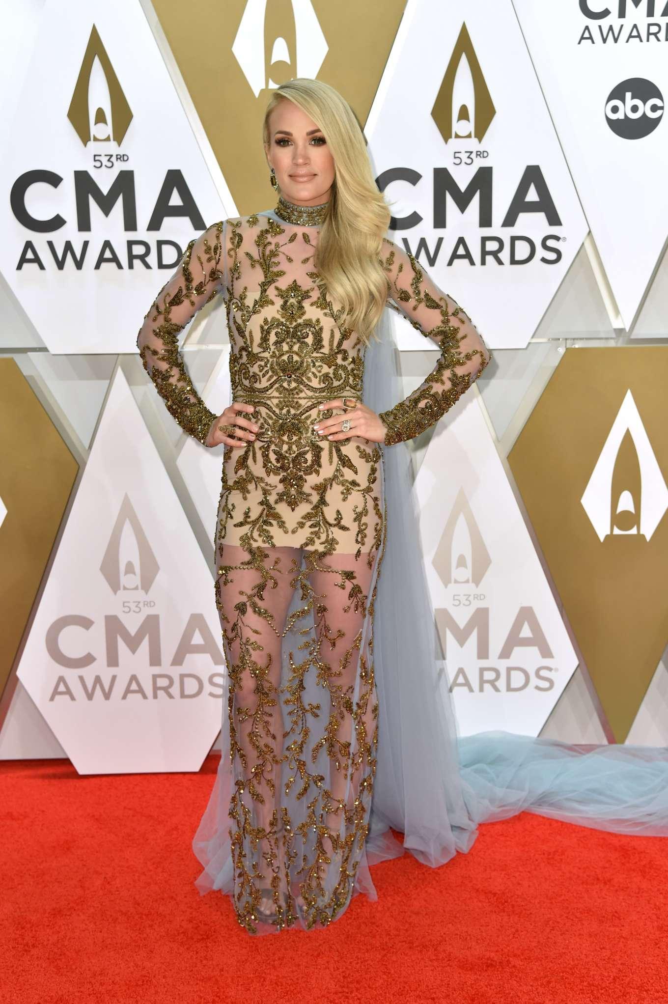 Carrie Underwood - 2019 CMA Awards in Nashville