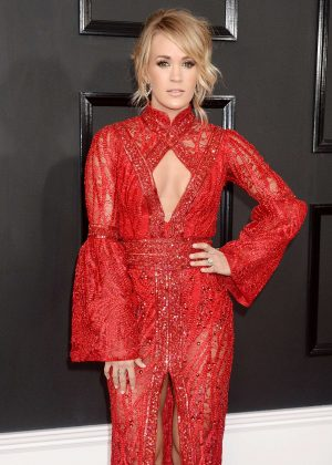 Carrie Underwood - 59th GRAMMY Awards in Los Angeles