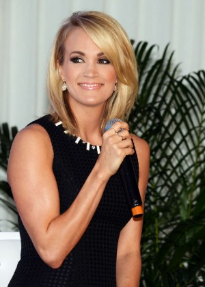Carrie Underwood - Announcing Partnership With Carnival Cruise Line Jacksonville in Florida