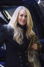 Carrie Underwood - Arrives at Good Morning America Show in New York City