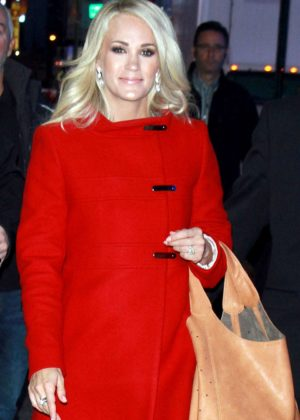 Carrie Underwood - Arriving to Good Morning America in New York City