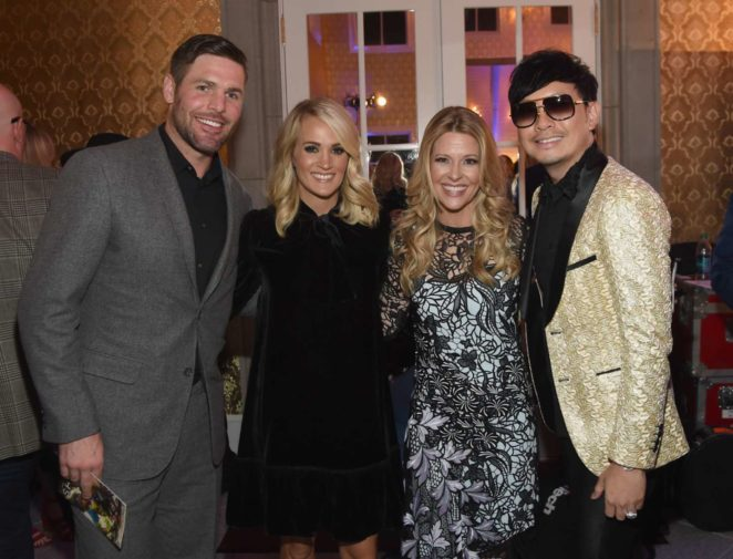 Carrie Underwood: Attends Nashville Shines for Haiti Event -02