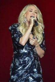 Carrie Underwood - Performing in concert at The SSE Hydro in Glasgow