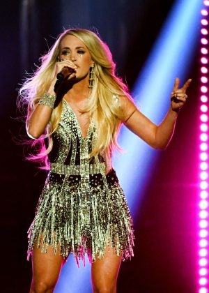 Carrie Underwood - Performs at 2018 Academy of Country Music Awards in Las Vegas