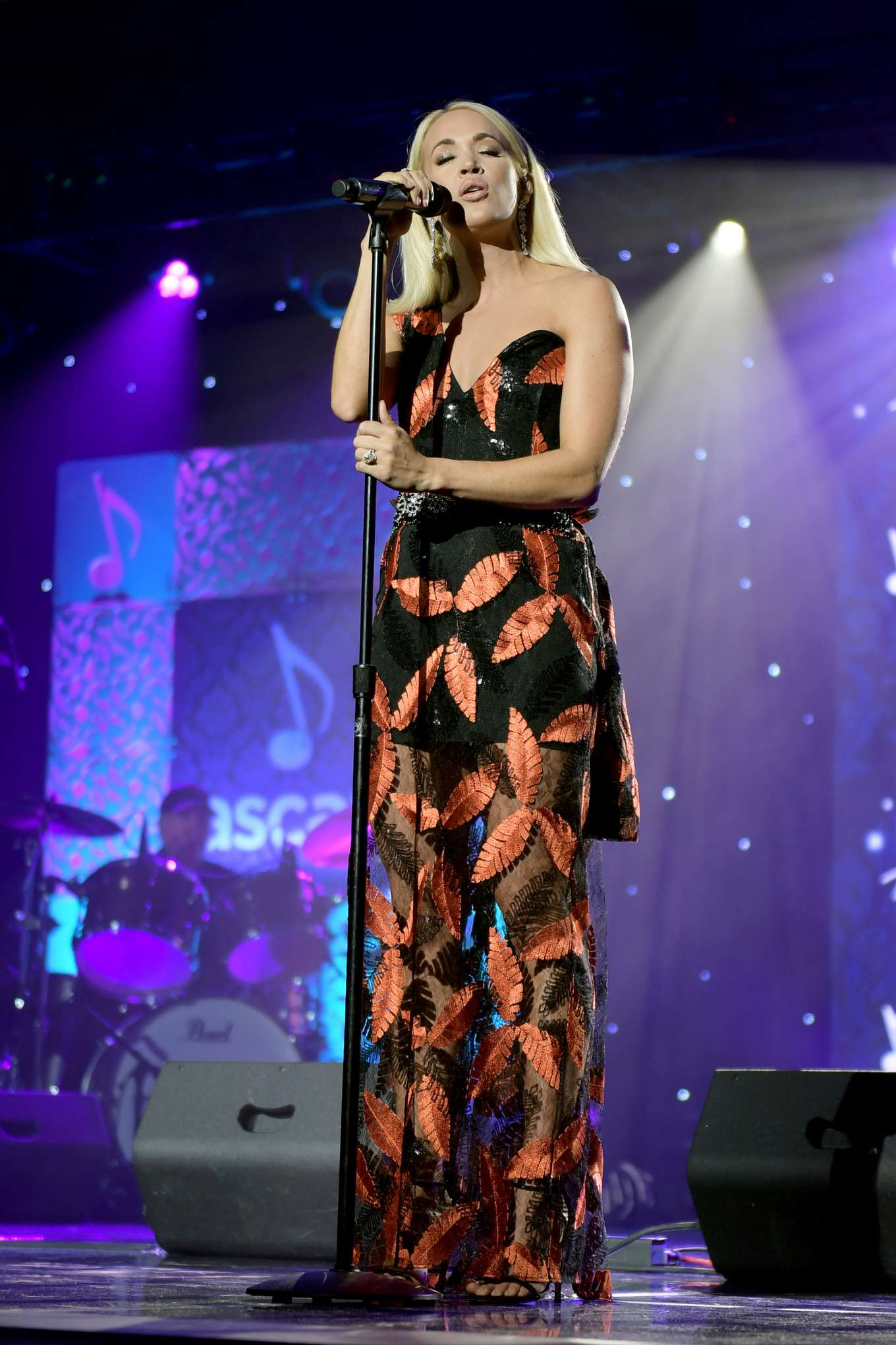 Carrie Underwood - Performs at 57th Annual ASCAP Country Music Awards in Nashville