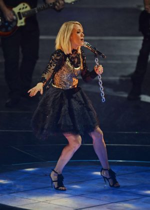 Carrie Underwood Performs At The Chesapeake Arena In Oklahoma