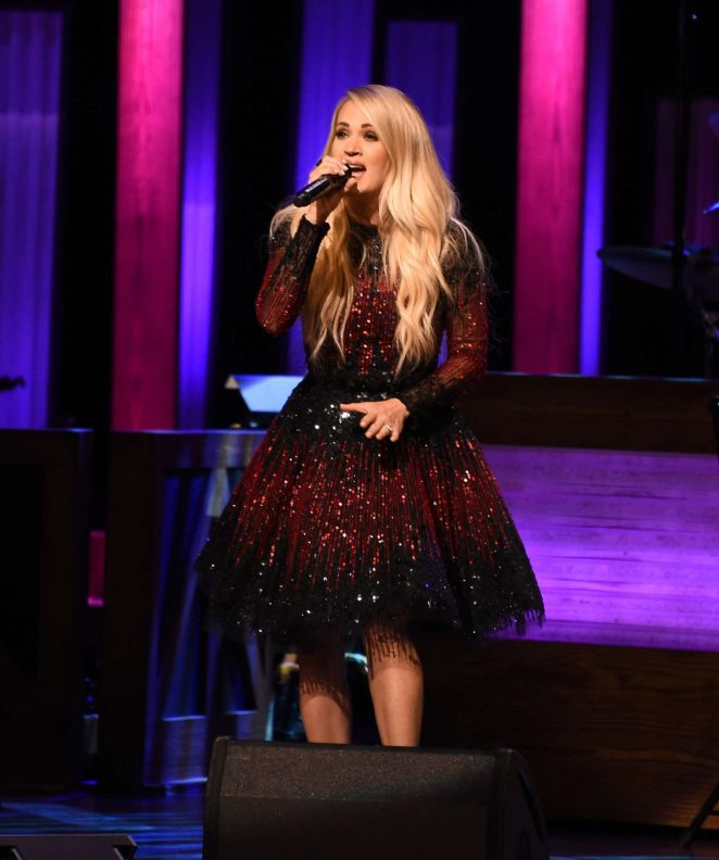Carrie Underwood - Performs at the Grand Ole Opry in Nashville