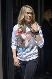 Carrie Underwood - Pictured at BBC Radio 2 in London
