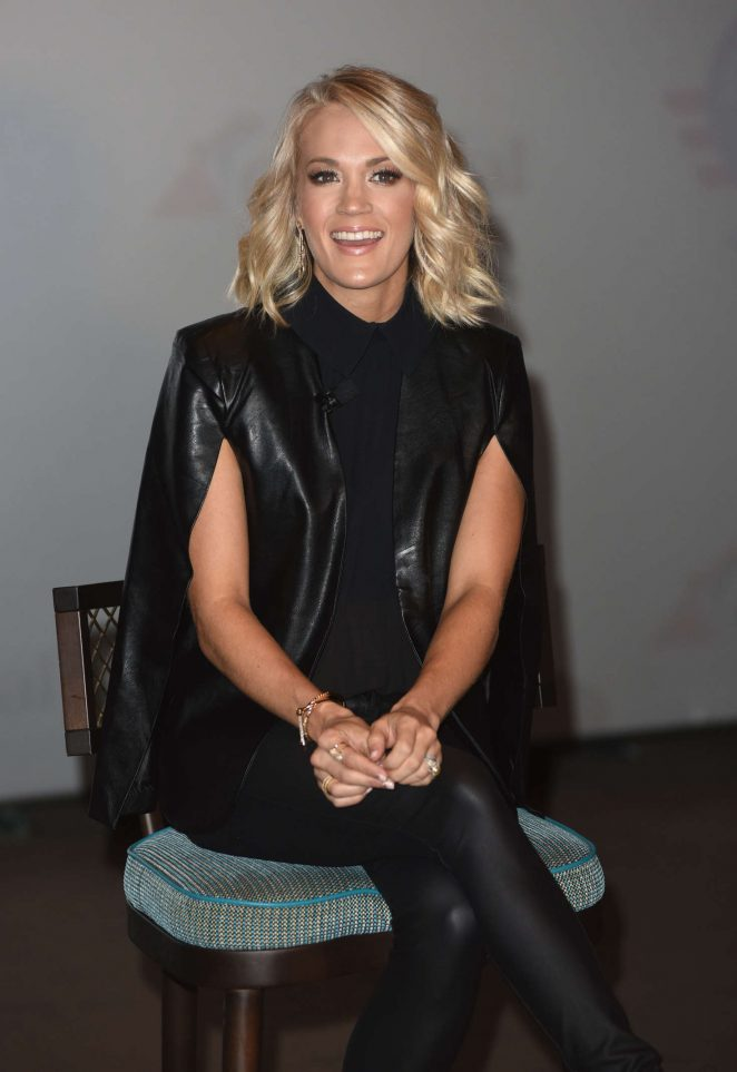 Carrie Underwood - Promotes Carnival Vista Cruise Ships in NYC