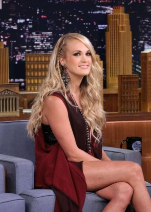Carrie Underwood - 'The Tonight Show Starring Jimmy Fallon' in NYC
