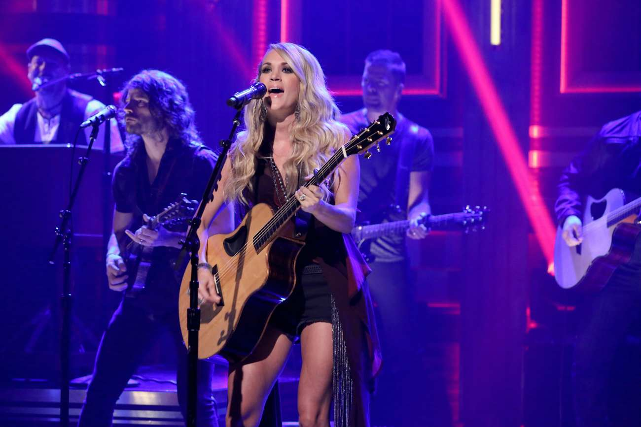 Carrie Underwood 2015 : Carrie Underwood: The Tonight Show Starring Jimmy Fallon -02