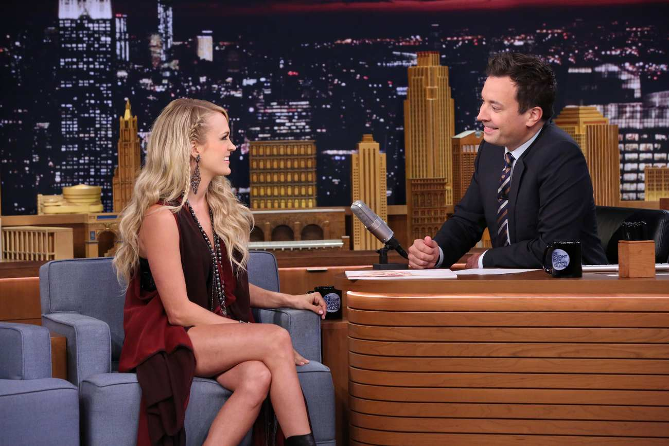 Carrie Underwood 2015 : Carrie Underwood: The Tonight Show Starring Jimmy Fallon -04