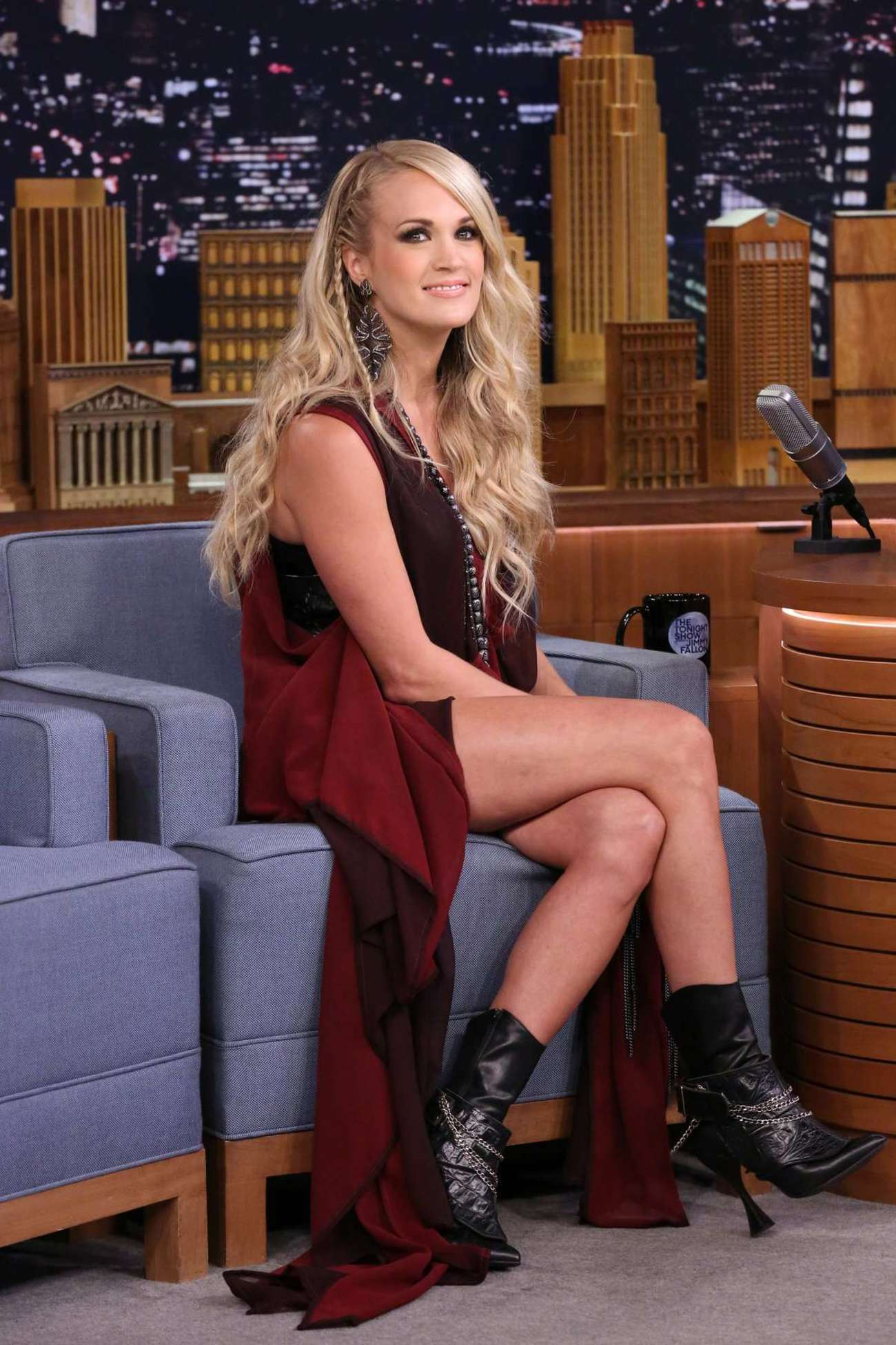 Carrie Underwood 2015 : Carrie Underwood: The Tonight Show Starring Jimmy Fallon -06