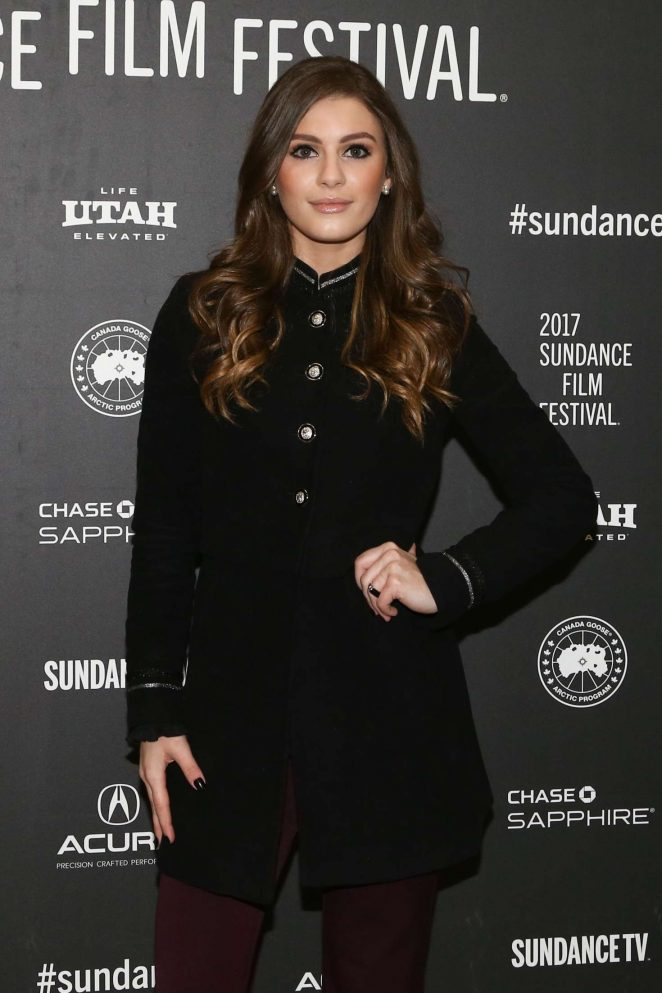 Carrie Wampler - 'The Yellow Birds' Premiere at 2017 Sundance Film Festival in Utah