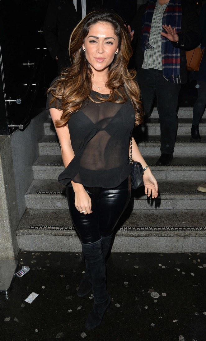 Casey Batchelor and Luisa Zissman at the 100 Restaurant -03