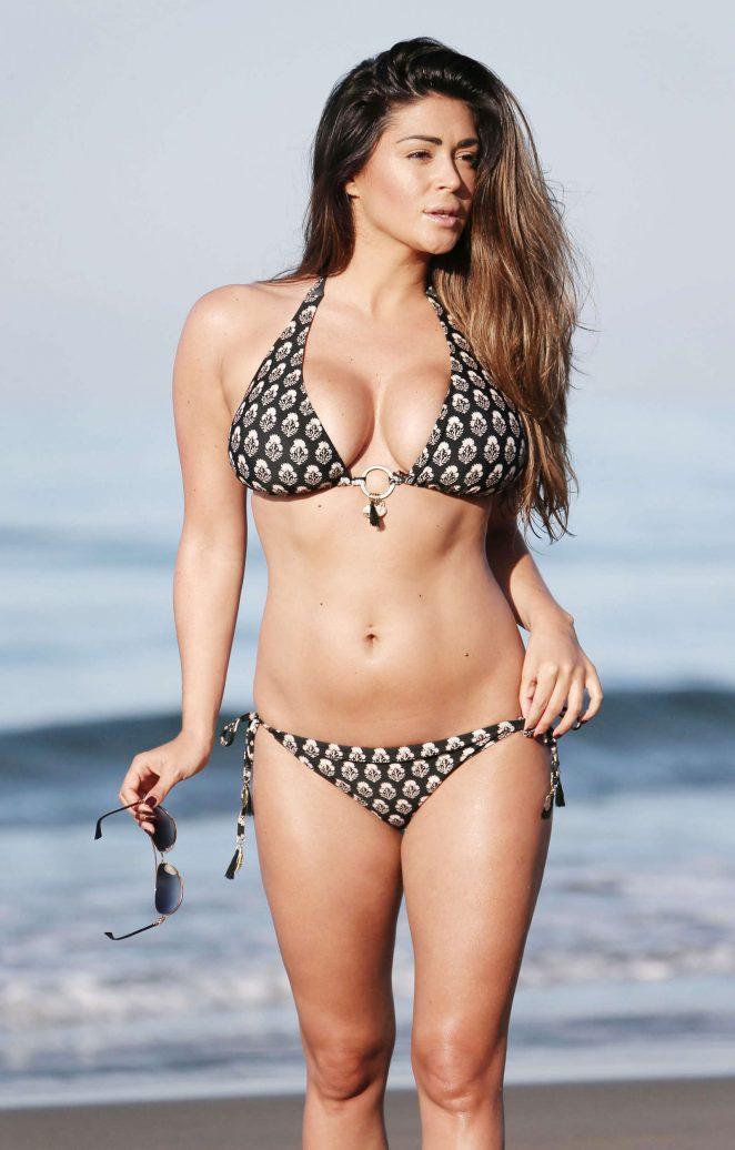 Casey Batchelor Hot in Bikini in Marbella