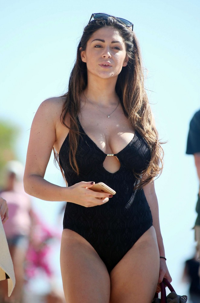 Casey Batchelor In Black Swimsuit 72 Gotceleb